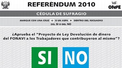 """Referéndum del Fonavi al 100%: el """"Sí"""" obtuvo 66,47% y el """"No"""" alcanzó 33,52%"""
