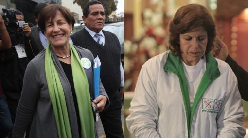 Villarán lleva casi 37 mil votos de ventaja a Lourdes, según conteo de la ONPE al 75,60%