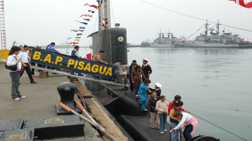 La Marina de Guerra abre este domingo puertas de la Base Naval del Callao para visitas gratuitas