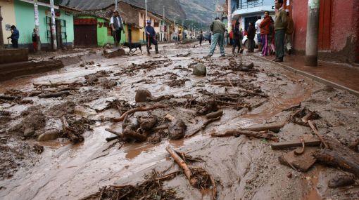 Indeci pidió evaluación de Urubamba por aire para descartar desastres