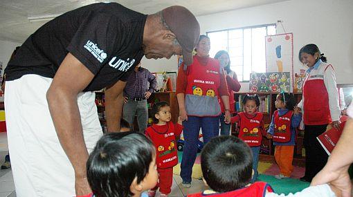 FOTOS: Danny Glover está en Lima como embajador de Unicef