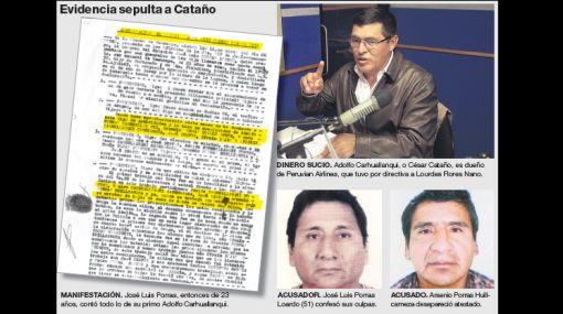 Pariente de César Cataño confesó en 1982 que traficó drogas con el hoy empresario aerocomercial