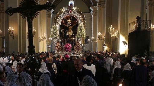 Señor de los Milagros saldrá en procesión en Viernes Santo