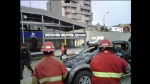 Piden poner guardavías en el Metropolitano tras choque contra estación - Noticias de luis quispe candia