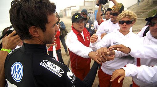 ¡Vamos Perú!: Villáran, Mulanovich y De Col clasificaron a la cuarta ronda del mundial de tabla