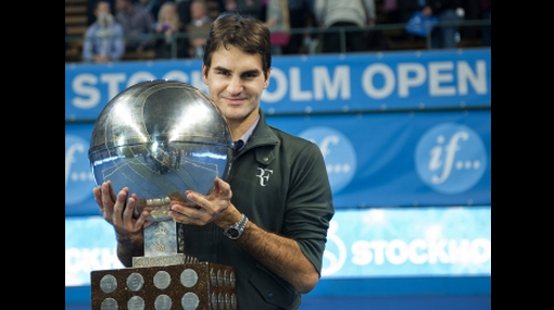 Roger Federer ganó su título número 64 e igualó récord de Pete Sampras