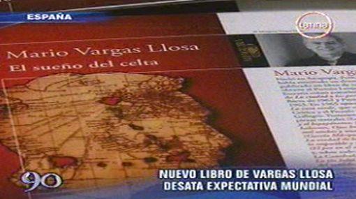 """Medio millón de ejemplares de """"El sueño del celta"""" saldrán a la venta el 3 de noviembre"""