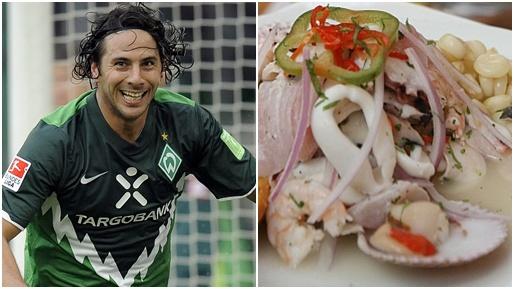 Hambre de gol y de cebiche: Claudio Pizarro confesó que extraña la comida peruana