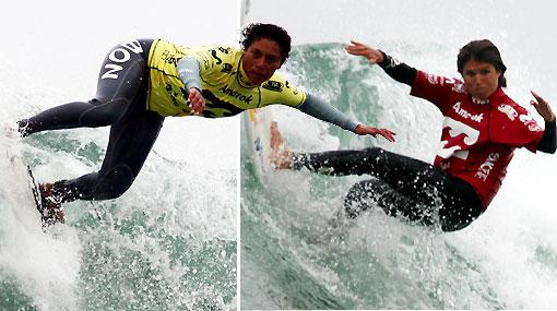 Sofía y Analí clasificaron a la semifinal del Mundial de Surf