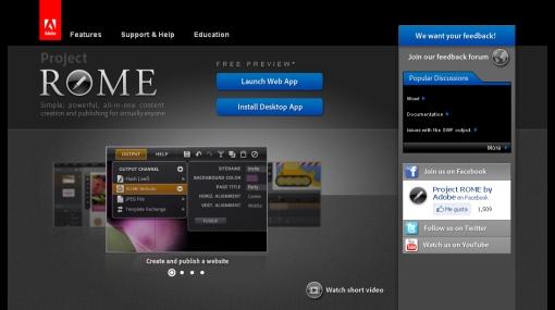 Adobe presenta su nueva aplicación para contenidos multimedia