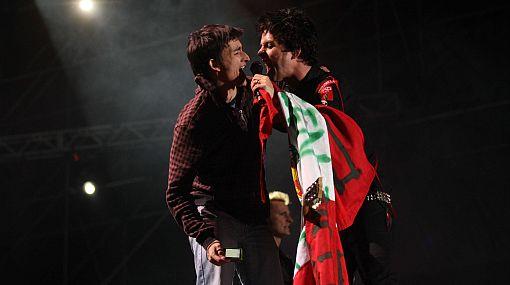 Las otras estrellas del show de Green Day en Lima: ellos son los que pudieron subir al escenario
