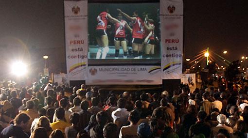 Debut de Perú en el Mundial de vóley será transmitido en pantalla gigante