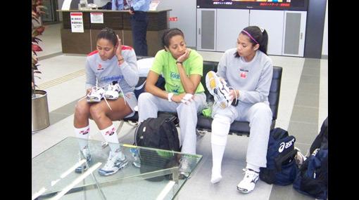 ¡Vamos, Perú! La selección de vóley tuvo su primer entrenamiento en Japón