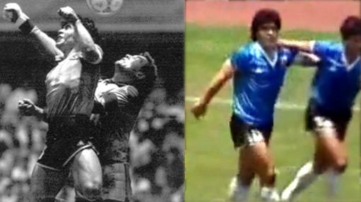 El día en que Maradona 'ganó' la guerra de las Malvinas