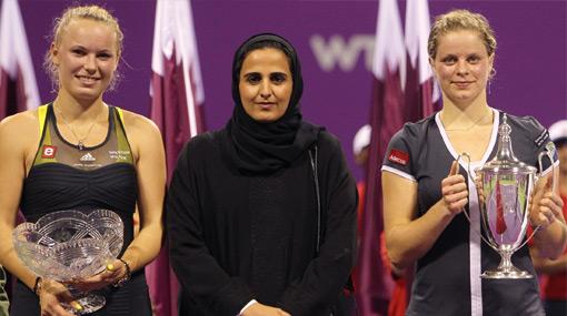 En el Día de las Brujas jugaron las bellas: Clijsters le ganó a Wozniacki el Másters de Doha