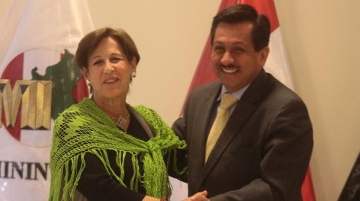 Sepa en qué planes para reducir la inseguridad coincidieron Villarán y el ministro del Interior