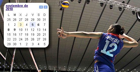 Calendario de los partidos de Perú en la segunda ronda del Mundial de Vóley
