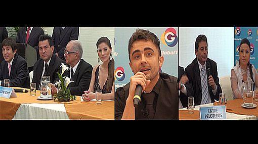 Conocidos rostros de la farándula y el deporte serán parte de la nueva programación de Global TV