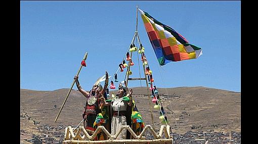CRÓNICA Y FOTOS: Manco Cápac y Mama Ocllo surgieron de las aguas del Titicaca