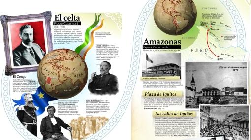 """INFOGRAFÍA: los personajes y lugares que inspiraron """"El sueño del celta"""""""