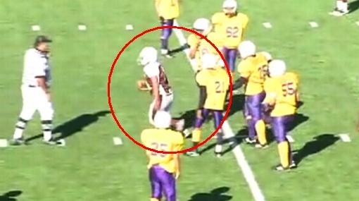 Genial truco de un 'quarterback' decidió un partido de fútbol americano