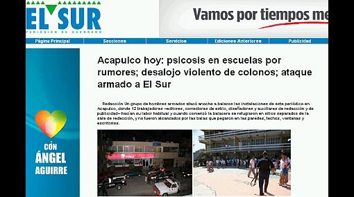 Violencia en México: hombres armados irrumpieron en un diario y dispararon sin dejar heridos