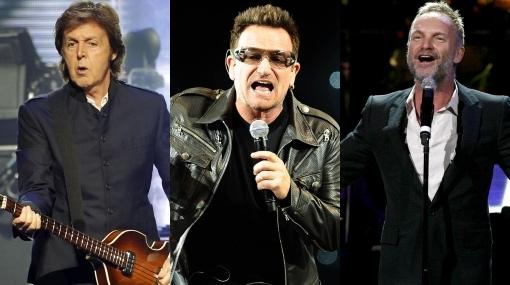 Paul McCartney, Sting y Bono invitados a cantar en Machu Picchu