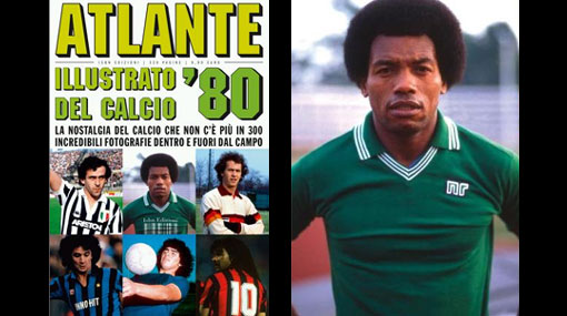 """Entre los grandes: """"Patrulla"""" Barbadillo es tapa de un libro de la historia del Calcio"""