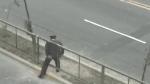 ¿Y el ejemplo? Cámara de seguridad captó a policía cruzando la Avenida Brasil de forma temeraria - Noticias de luis quispe candia