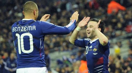 Una cachetada: Francia venció 2-1 a Inglaterra en el Wembley