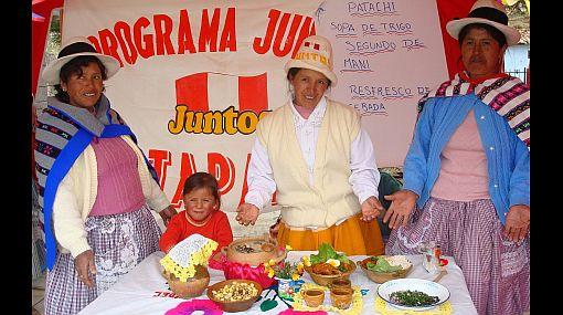 Feria gastronómica en Jauja fortalece lucha contra la desnutrición