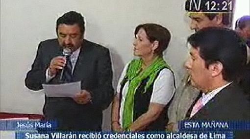 El JNE responsabilizó al JEE de Lima Centro por improvisada entrega de credenciales a Susana Villarán
