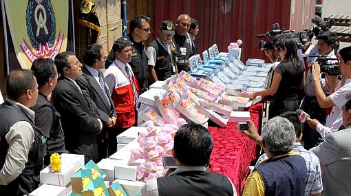Incautaron 50 mil juguetes sin registro sanitario provenientes de China, valorizados en US$ 200 mil