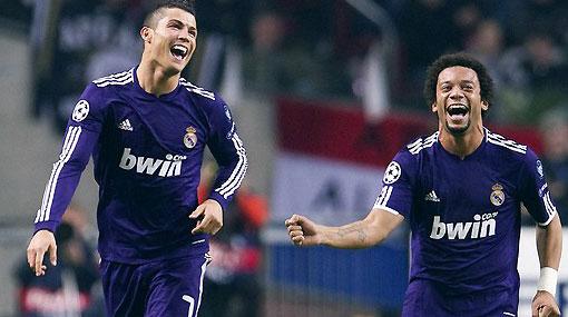 Champions: Real Madrid goleó al Ajax 4-0 de visita con dos goles de Cristiano Ronaldo