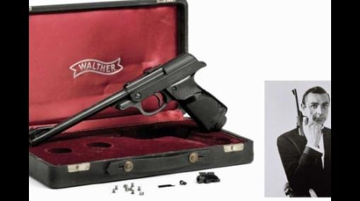 La pistola de James Bond derrotó en subasta a un traje original de Darth Vader