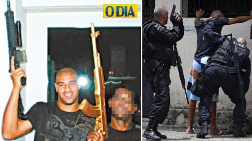 La convulsionada Vila Cruzeiro es la favela de Rio de Janeiro de donde viene Adriano