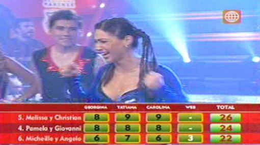 """Melissa Loza y Christian Domínguez son finalistas en """"Amigos y rivales"""""""