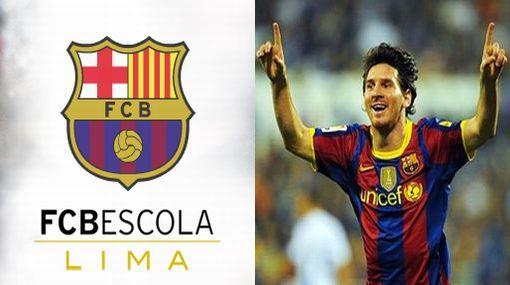 ¿Saldrá un futuro Messi? Barcelona inaugurará su escuela de fútbol en Lima