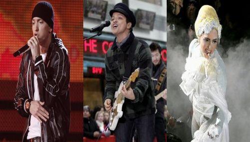 Eminem lidera la lista de nominados para la 53 edición de los premios Grammy