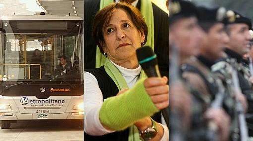 Villarán aseguró que línea 2 del Metropolitano se hará al iniciar su gestión