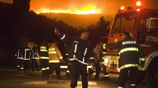 Israel: aún no se puede controlar el voraz incendio forestal que ya sumó 41 muertos