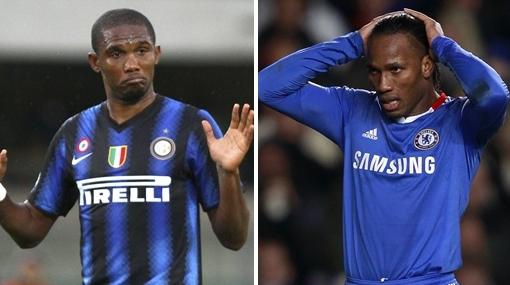 Didier Drogba o Samuel Eto'o ¿Quién es mejor futbolista africano 2010?