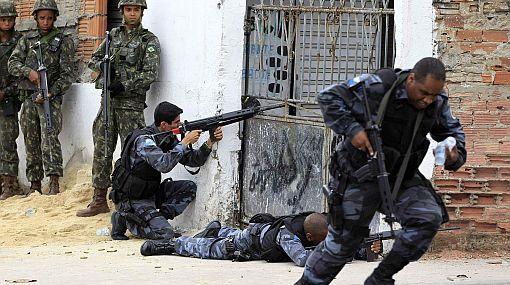 Guerra al narcotráfico: la policía brasileña se prepara para entrar a otras dos favelas