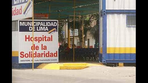 """""""Fiscalización de Hospital de la Solidaridad de SJL corresponde a Municipalidad de Lima"""", afirma Luis Rubio"""