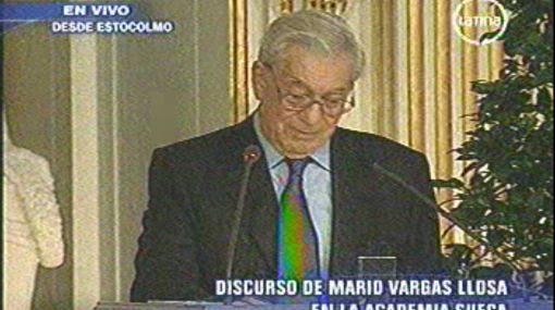 Mario Vargas Llosa se quebró emocionado al hablar de su esposa Patricia