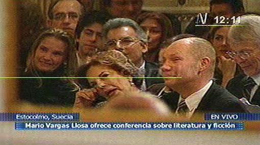 """""""Mario Vargas Llosa es el primer Nobel que lloró en Estocolmo"""""""