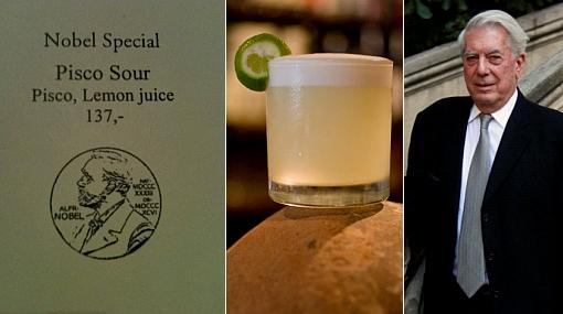 Pisco Nobel: lujoso hotel de Estocolmo ofrece nuestro coctel en honor a Vargas Llosa