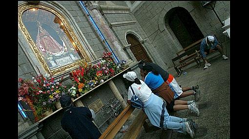 FOTOS: peregrinación de fe a Otuzco por la Virgen de la Puerta