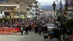 FOTOS: empieza escasez de alimentos en Huaraz por bloqueo de carreteras - Noticias de universidad feredico villarreal