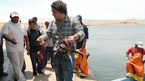 """Gastón Acurio recorrió áreas costeras protegidas en busca de """"El cebiche perfecto"""""""